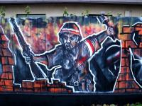Graffiti: kolejne prace Arkowców