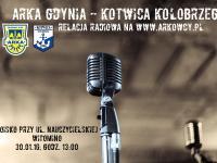 Relacja radiowa LIVE: Arka - Kotwica