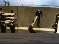 Mural upamiętniający wydarzenia Grudnia'70