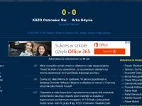 Zapis relacji LIVE: KSZO - Arka