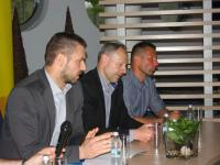 Relacja ze spotkania kibiców Arki z działaczami i trenerem