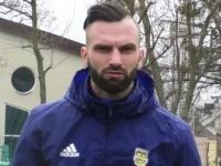 Tomaš Košut trenuje z Arką