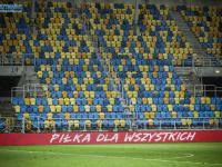 Sektor gości we Wrocławiu zamknięty