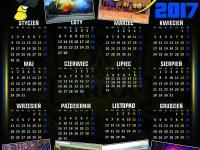 Zapisy na kalendarze Arka Gdynia Obłuże na 2017r.