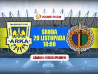 LIVE: Arka Gdynia - Chrobry Głogów (1/4 Pucharu Polski)