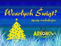 Żołto-niebieskich Świąt Bożego Narodzenia!