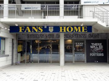 """""""FANS HOME"""" uroczyście otwarty!"""