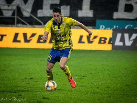 Vejinović piłkarzem meczu z Miedzią
