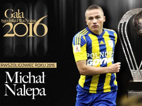 Michał Nalepa Pierwszoligowcem Roku!