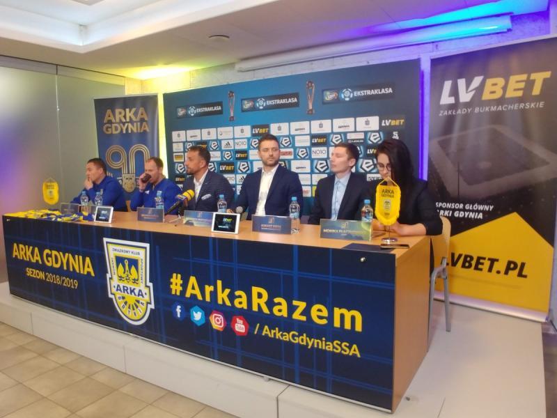 LV BET sponsorem głównym Arki