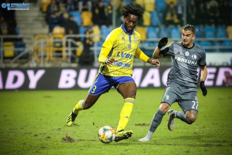 Maghoma piłkarzem meczu z Legią