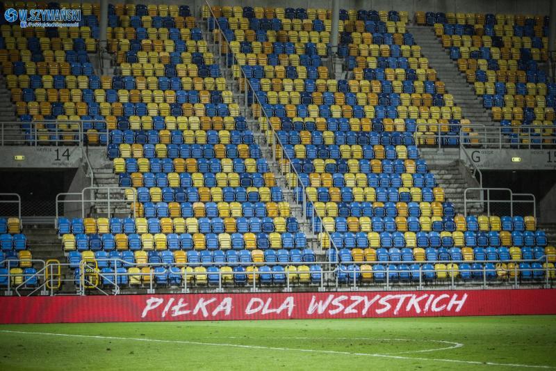 Mecze Ekstraklasy bez kibiców