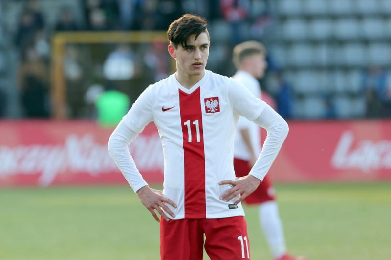 Występ Kobackiego w reprezentacji U-20