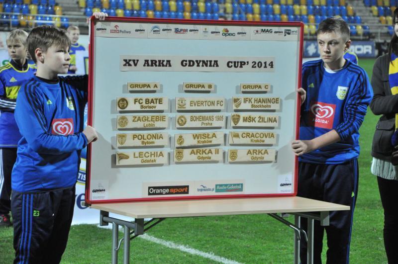 Arka Gdynia Cup 2014 - Przedstawiamy uczestników