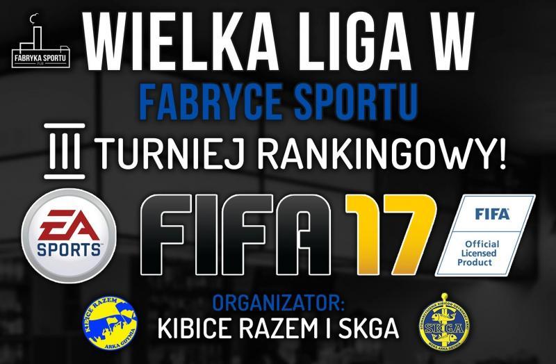III turniej w FIFA17 już w niedzielę