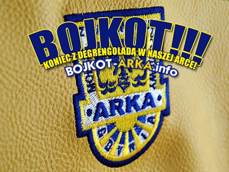 Bojkot meczów Arki w Gdyni