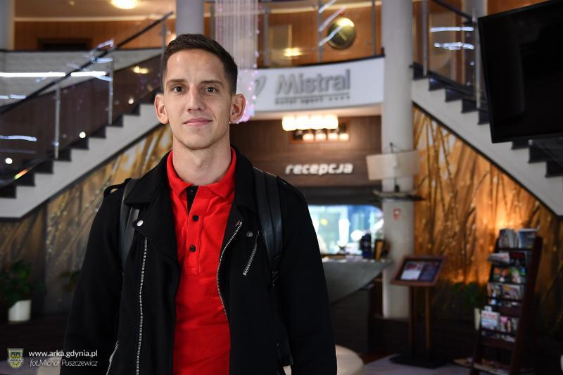 Jakub Paur na testach medycznych w Arce