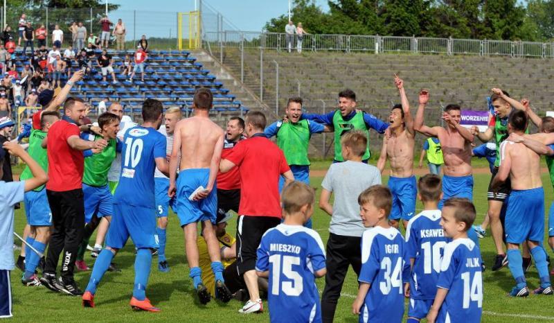 Gwardia Koszalin w II lidze