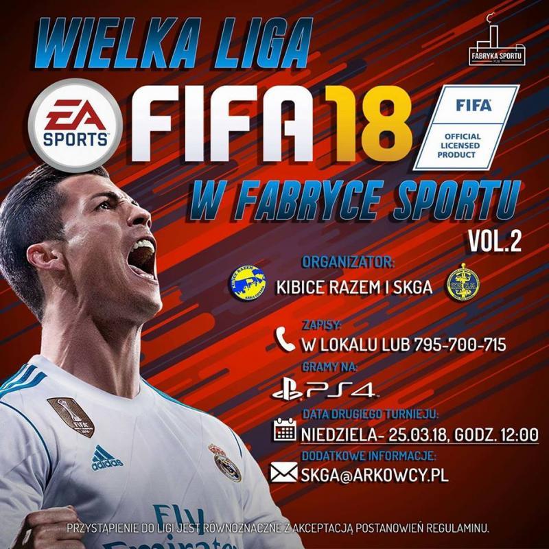 Nowa edycja turnieju FIFA'18