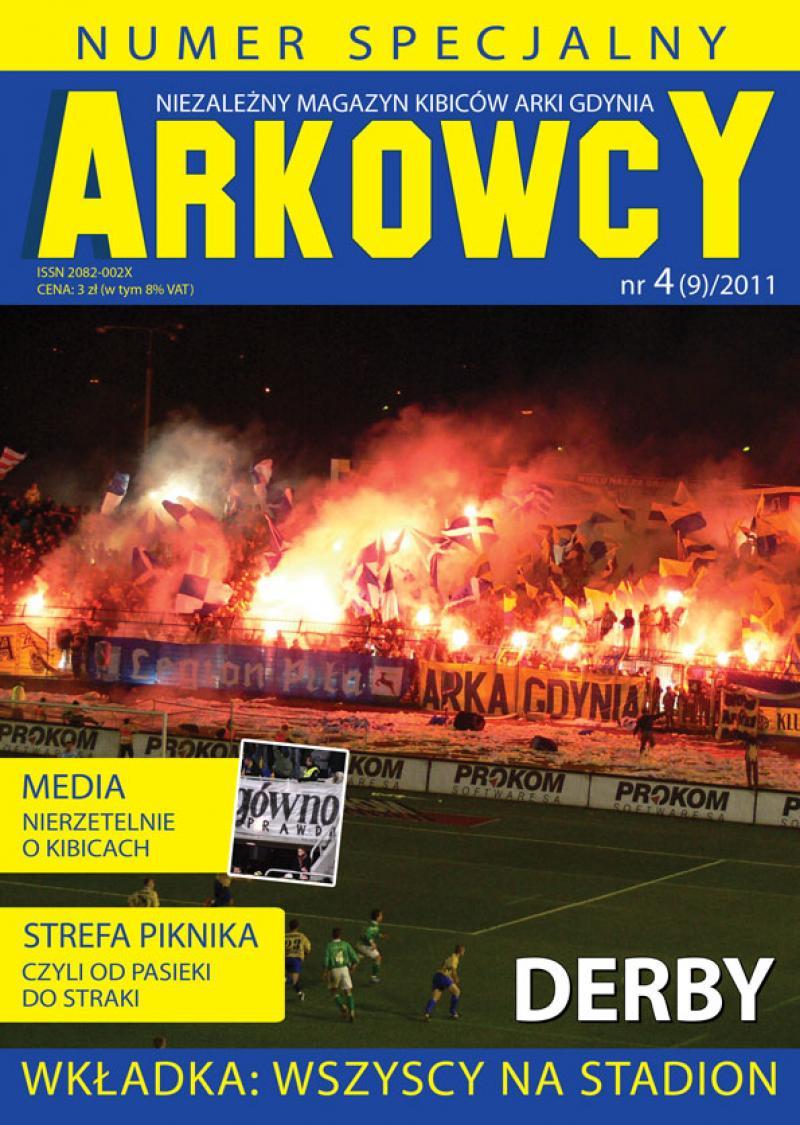Magazyn kibiców Arki specjalnie na derby!