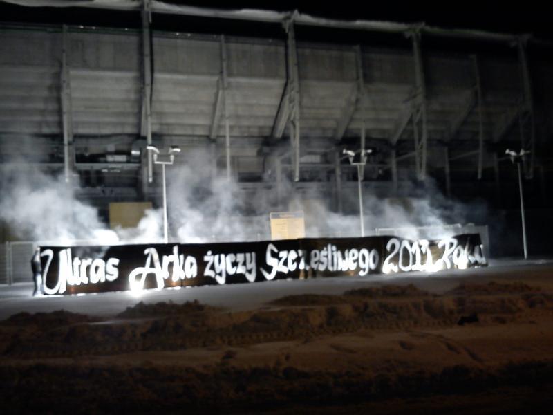 Życzenia noworoczne od Ultras Arka!